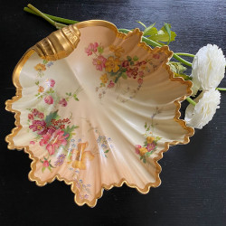 Royal Worcester Porcelain Blush Ivory Shell...