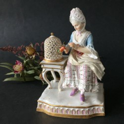 Meissen Porcelain One of Five Senses Touch. (1880-1900)